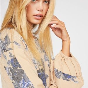 NWT FP Flower Patch Top